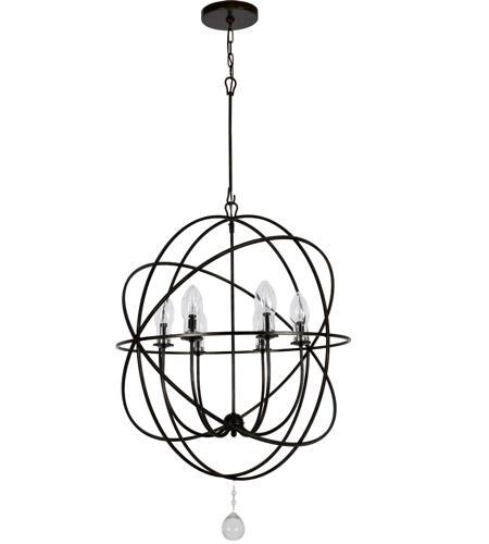 Crystorama sol 9328 eb solaris 6 light 29 inch english bronze crystorama sol 9328 eb solaris 6 light 29 inch english bronze chandelier ceiling light aloadofball Images
