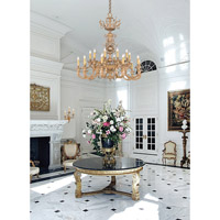 Crystorama Kensington 20 Light Chandelier in Olde Brass 2615-OB alternative photo thumbnail