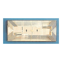 Signature 2 Light 16 inch Gold Wall Sconce Wall Light