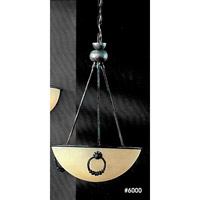 Signature 3 Light 17 inch Blue Pendant Ceiling Light