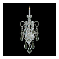 Traditional Crystal 1 Light 11 inch Polished Brass Wall Sconce Wall Light in Polished Brass (PB), 11-in Width