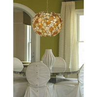 Crystorama Palla 6 Light Chandelier in Antique Gold Leaf with Hand Cut Crystals 529-GA alternative photo thumbnail