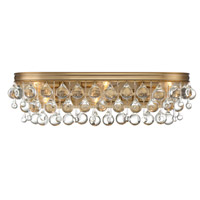 Crystorama 133-VG Calypso 6 Light 23 inch Vibrant Gold Vanity Light Wall Light