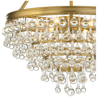 Crystorama 136-VG Calypso 6 Light 20 inch Vibrant Gold Chandelier Ceiling Light alternative photo thumbnail