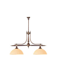 Crystorama Camden 2 Light Island Light in Roman Bronze 1362-RB