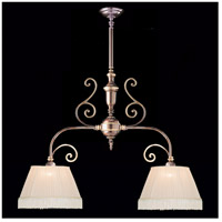 Crystorama Manchester 2 Light Pendant in Roman Bronze 1372-RB