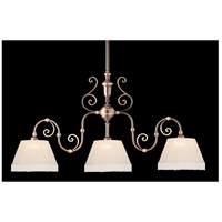 Crystorama Signature 3 Light Chandelier in Roman Bronze 1373-RB