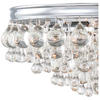 Crystorama 138-CH Calypso 6 Light 20 inch Polished Chrome Flush Mount Ceiling Light in Polished Chrome (CH) alternative photo thumbnail