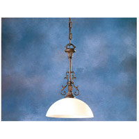 Manchester 1 Light 14 inch Venetian Bronze Pendant Ceiling Light