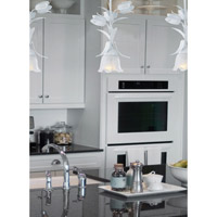 Crystorama 4821-WW Southport 1 Light 6 inch Wet White Pendant Ceiling Light in Wet White (WW) alternative photo thumbnail