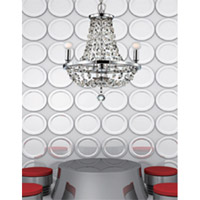 Crystorama 1543-CH-MWP Channing 3 Light 15 inch Polished Chrome Mini Chandelier Ceiling Light in Polished Chrome (CH) alternative photo thumbnail