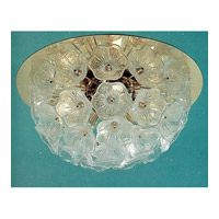 Signature 5 Light 24 inch Chrome Flush Mount Ceiling Light