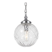 Essex 1 Light 10 inch Polished Chrome Pendant Ceiling Light