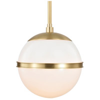 Truax 1 Light 7 inch Aged Brass Mini Chandelier Ceiling Light