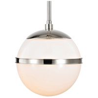 Truax 1 Light 7 inch Polished Nickel Mini Chandelier Ceiling Light