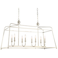 Sylvan 8 Light 18 inch Polished Nickel Chandelier Ceiling Light