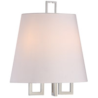 Crystorama 2252-PN Westwood 2 Light 12 inch Polished Nickel Wall Sconce Wall Light