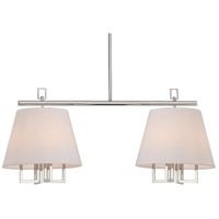 Crystorama 2257-PN Westwood 8 Light 42 inch Polished Nickel Pendant Ceiling Light