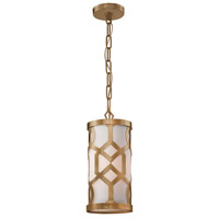 Crystorama 2260-AG Jennings 1 Light 6 inch Aged Brass Pendant Ceiling Light in Aged Brass (AG)