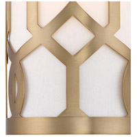Crystorama 2262-AG Jennings 1 Light 7 inch Aged Brass ADA Wall Sconce Wall Light in Aged Brass (AG) alternative photo thumbnail
