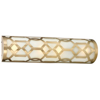 Jennings LED 24 inch Aged Brass Vanity Light Wall Light