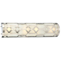 Jennings LED 24 inch Polished Nickel Vanity Light Wall Light in Polished Nickel (PN)