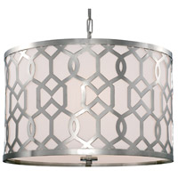 Crystorama 2266-PN Jennings 5 Light 24 inch Polished Nickel Chandelier Ceiling Light in Polished Nickel (PN) photo thumbnail