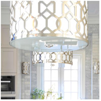 Crystorama 2266-PN Jennings 5 Light 24 inch Polished Nickel Chandelier Ceiling Light in Polished Nickel (PN) alternative photo thumbnail