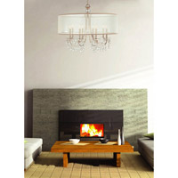 Crystorama Hampton 8 Light Chandelier in Polished Chrome 5628-CH alternative photo thumbnail