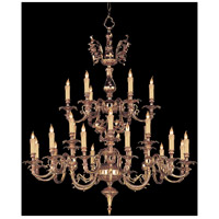 Signature 24 Light 40 inch Olde Brass Chandelier Ceiling Light in Olde Brass (OB)