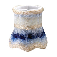 Crystorama Mini Shade Wall Sconce in Blue 26SH-BLUE photo thumbnail