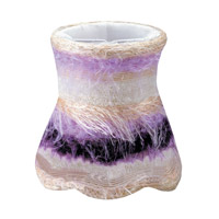 Crystorama Mini Shade Wall Sconce in Purple 26SH-PURPLE