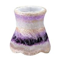 Crystorama Mini Shade Wall Sconce in Purple 26SH-PURPLE photo thumbnail