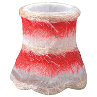 Crystorama Accessory Mini Shade in Red 26SH-RED