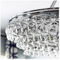 Crystorama 275-CH Calypso 6 Light 30 inch Polished Chrome Chandelier Ceiling Light in Polished Chrome (CH) alternative photo thumbnail