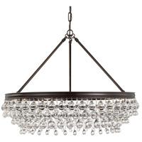Calypso 6 Light 30 inch Vibrant Bronze Chandelier Ceiling Light in Vibrant Bronze (VZ)