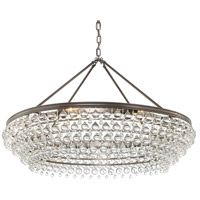 Crystorama 278-VZ Calypso 8 Light 40 inch Vibrant Bronze Chandelier Ceiling Light in Vibrant Bronze (VZ)
