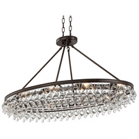 Crystorama 279-VZ Calypso 8 Light 18 inch Vibrant Bronze Chandelier Ceiling Light in Vibrant Bronze (VZ)