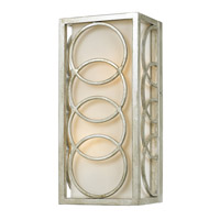 Crystorama Libby Langdon Graham 2 Light Wall Sconce in Antique Silver 281-SA