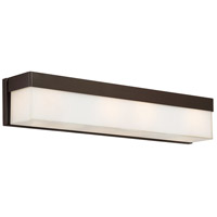 Crystorama Grayson 4 Light Vanity Light in Dark Bronze 294-DB