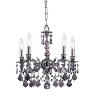 Crystorama Mirabella Chandelier in Pewter 30301-PW