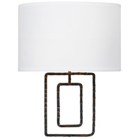 Crystorama Lattice 2 Light Wall Sconce in Raw Steel 321-RS