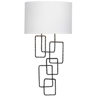Crystorama Lattice 2 Light Wall Sconce in Raw Steel 322-RS