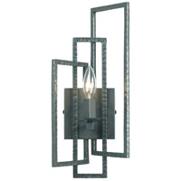 Crystorama Capri 1 Light Wall Sconce in Gray 331-GY