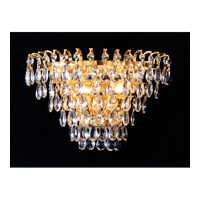 Crystorama Signature 2 Light Wall Sconce in Gold 3502-GD-CL-MWP