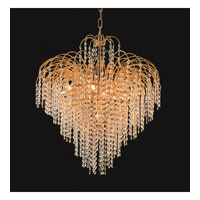Crystorama Shower 12 Light Chandelier in Gold 3615-GD-CL-MWP photo thumbnail