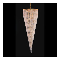 Crystorama Lighting Shower 6 Light Chandelier in Gold & Hand Cut Clear Crystal 3700-GD-CL-MWP photo thumbnail