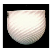 Signature 1 Light 10 inch White Wall Sconce Wall Light in White (WHITE)