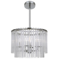 Crystorama Bleecker 4 Light Chandelier in Chrome 394-CH
