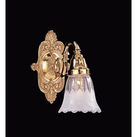 Crystorama Arlington Collection 1 Light Wall Sconce in Polished Brass 421-PB-T